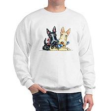 Scottie Gingham Cuties Sweatshirt