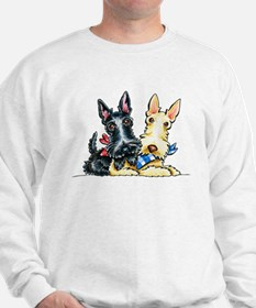 Scottie Gingham Cuties Sweatshirt