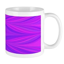 Mauve Zigzag Mugs
