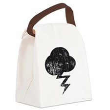 Misfits storm and cloud Canvas Lunch Bag