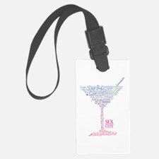 Sex and the City Martini Glass 2 Luggage Tag