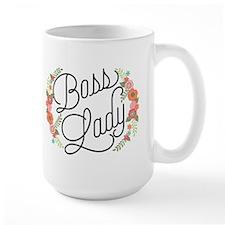 Boss Lady Floral Mugs