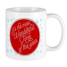 Most Wonderful Time Of The Year Mugs