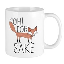 Oh! For Fox Sake Mugs