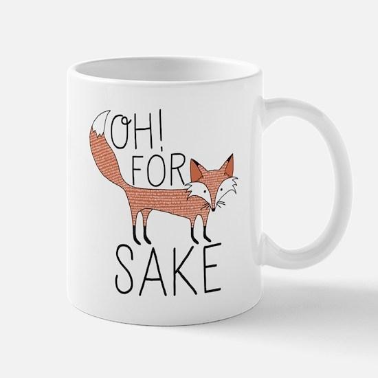 Oh! For Fox Sake Mugs