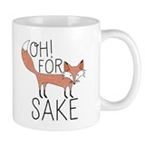 For fox sake mug Small Mugs (11 oz)