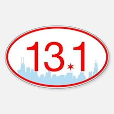 13.1 Chicago Skyline Decal