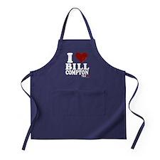 I Heart Bill Compton Apron (dark)