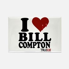 I Heart Bill Compton Rectangle Magnet