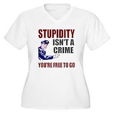 Stupidity Isn't a T-Shirt