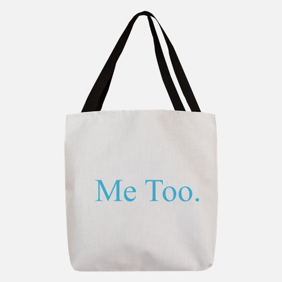 Me Too - Blue Polyester Tote Bag