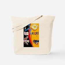 Las Vegas Vintage Tote Bag