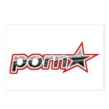 Pornstar Postcards (Package of 8)