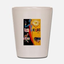 Las Vegas Vintage Shot Glass
