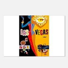 Las Vegas Vintage Postcards (Package of 8)