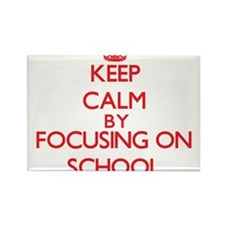 Keep Calm by focusing on School Magnets