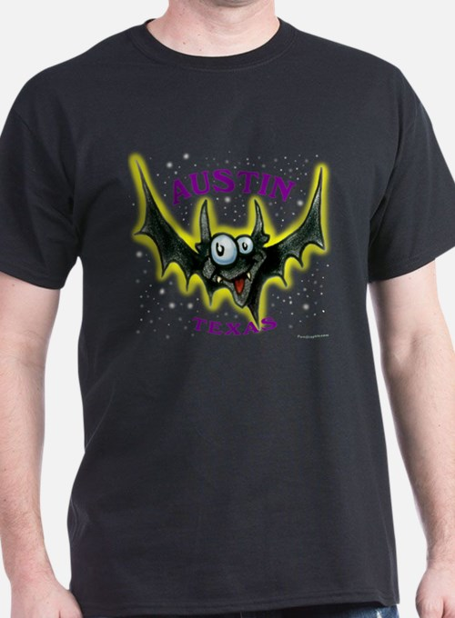 Austin bat t shirts shirts tees custom austin bat for Custom t shirts austin texas