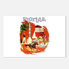 Florida Vintage Postcards (Package of 8)