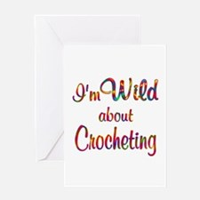 Wild About Crocheting Greeting Card