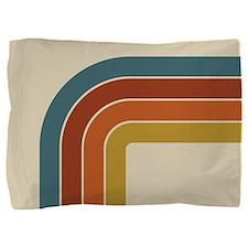 Retro Curve Pillow Sham