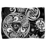 Celtic Clockwork Pillow Sham