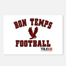 Bon Temps Football Postcards (Package of 8)
