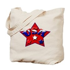 """USA STARS""  Tote Bag"