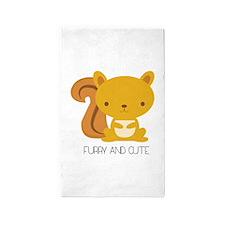 Furry And Cute Area Rug