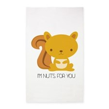 I'm Nuts For You Area Rug