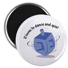 It Loves To Dance And Spin! Magnets