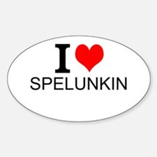 I Love Spelunking Decal