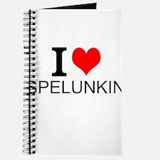 I Love Spelunking Journal