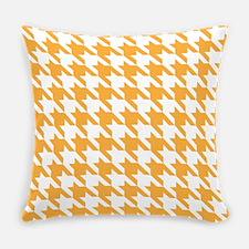 Houndstooth Tangerine Pattern Master Pillow