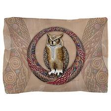 Celtic Owl Pillow Sham