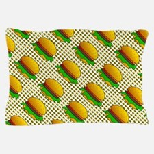 Vision Of Burgers Pillow Case