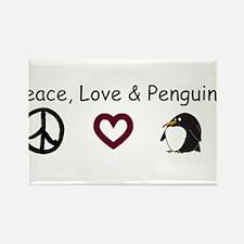 peace love penguins.bmp Magnets