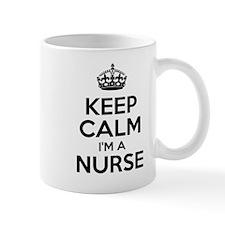 Keep Calm IM A Nurse Mugs