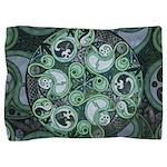 Celtic Stormy Sea Mandala Pillow Sham