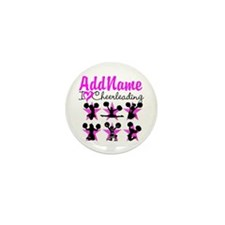 CHEERLEADER 4EVER Mini Button