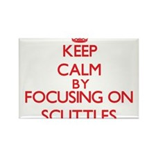 Keep Calm by focusing on Scuttles Magnets