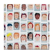 Kids! Tile Coaster