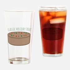 Holiday Treat Drinking Glass