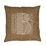 Celtic Letter B Master Pillow