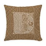Celtic Letter D Master Pillow