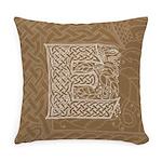 Celtic Letter E Master Pillow