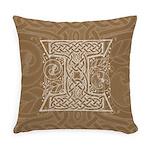 Celtic Letter I Master Pillow