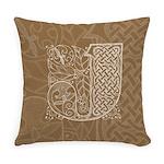 Celtic Letter J Master Pillow