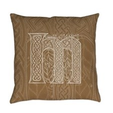 Celtic Letter M Master Pillow
