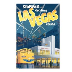 Las Vegas Postcards (Package of 8)