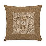 Celtic Letter O Master Pillow